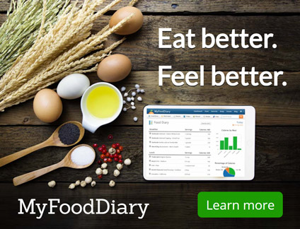Eat better. Feel better. MyFoodDiary