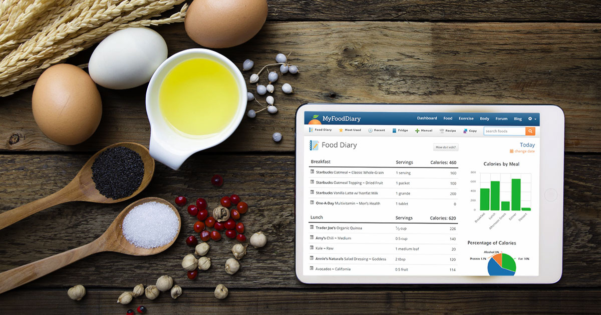 myfooddiary calorie counting made easy food diary exercise log