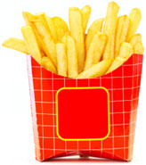 French Fries size today