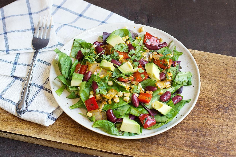 Tex Mex Chopped Salad Recipe Myfooddiary