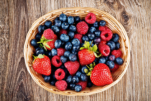 food storage berries