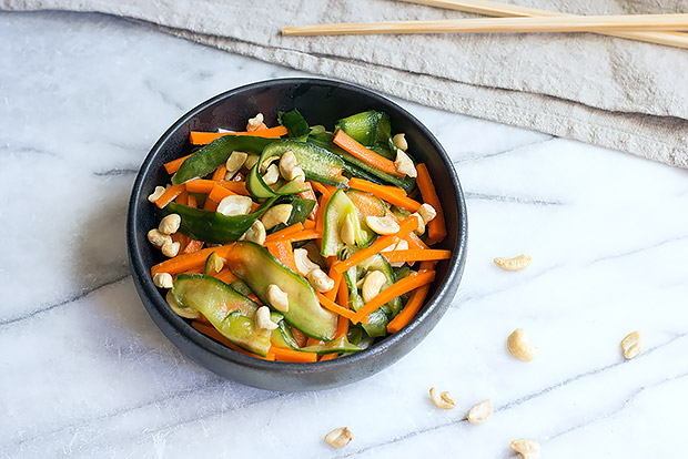 Crunchy Cucumber Salad Recipe