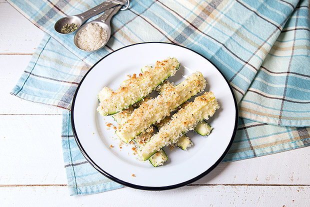 Crunchy Baked Zucchini Sticks Recipe