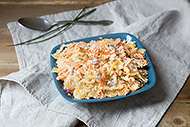 Carrot Cauliflower Pasta Salad