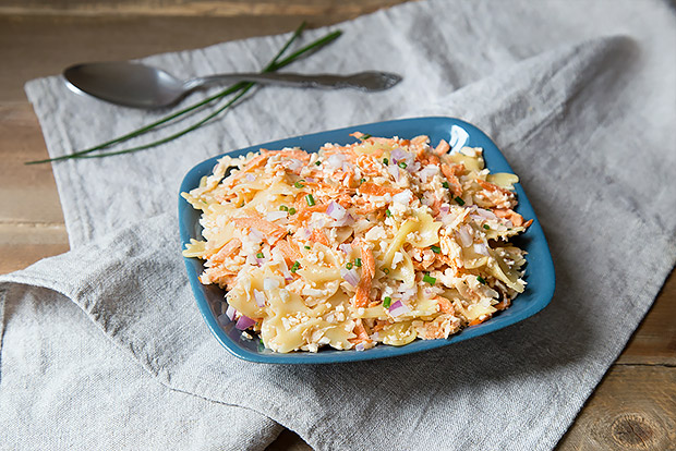 Carrot Cauliflower Pasta Salad Recipe