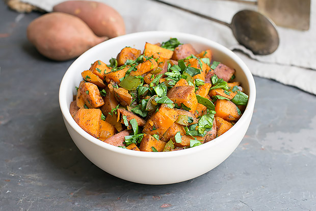 Skillet Sweet Potato Hash Recipe