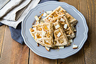 Pear & Walnut Waffles