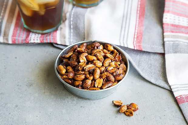 Sweet and Spicy Peanuts Recipe