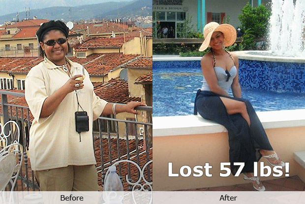 Sabrina K. lost 57 pounds!