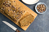 Whole Grain Olive Oil Zucchini Bread