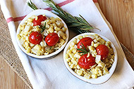 Warm Rosemary Corn and Tomato Salad