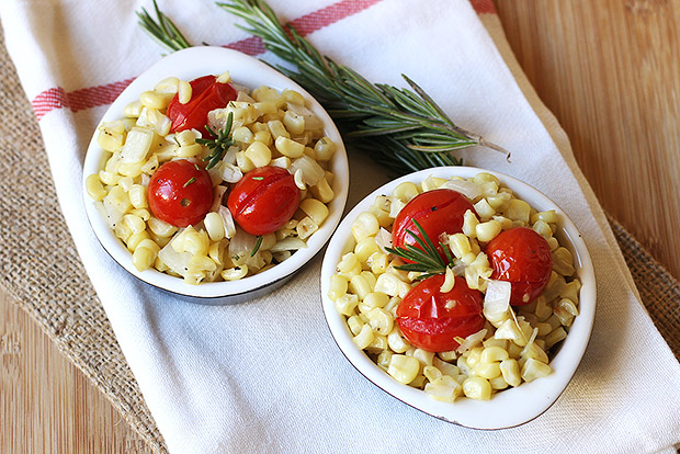Rosemary Corn and Tomato Salad Recipe