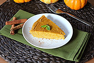 Spiced Crustless Pumpkin Pie
