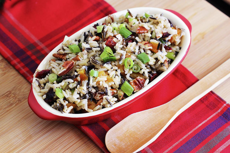 Wild Rice Salad Recipe | MyFoodDiary