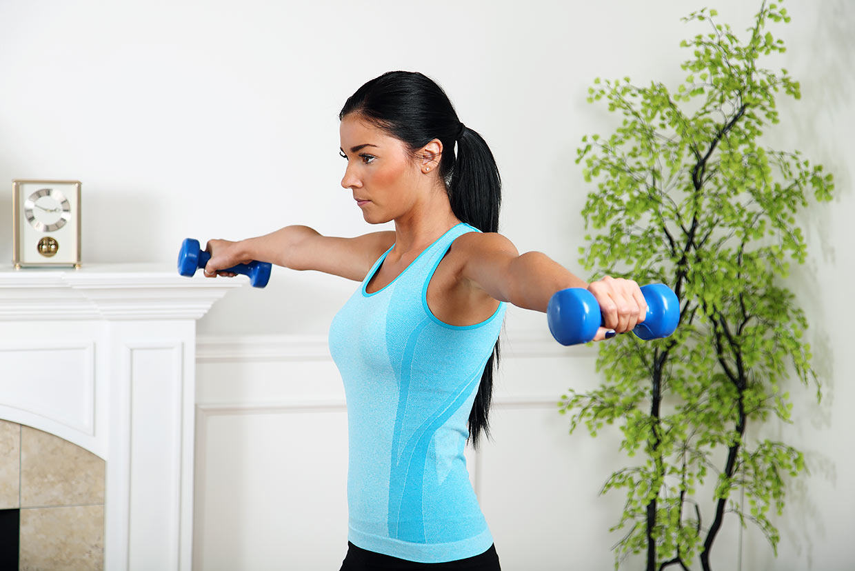 Quick Circuit Training Exercise At Home Myfooddiary