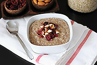 Almond Cherry Steel-cut Oatmeal