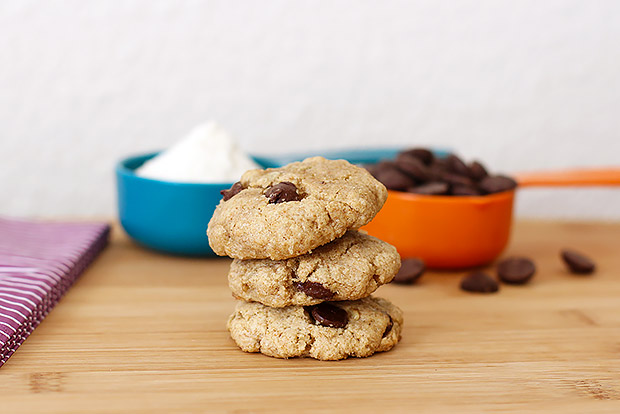 Chocolate Chip and Sunflower Seed Olive Oil Cookies Recipe