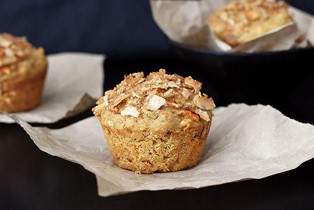 Carrot Coconut Muffin Recipe