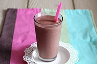 Chocolate Strawberry Peanut Protein Shake
