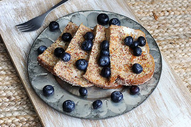 Blueberry Almond French Toast Recipe