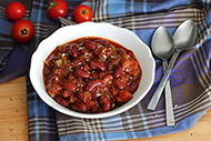 Simple Vegetarian Chili