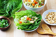 Ginger Chicken Lettuce Wraps