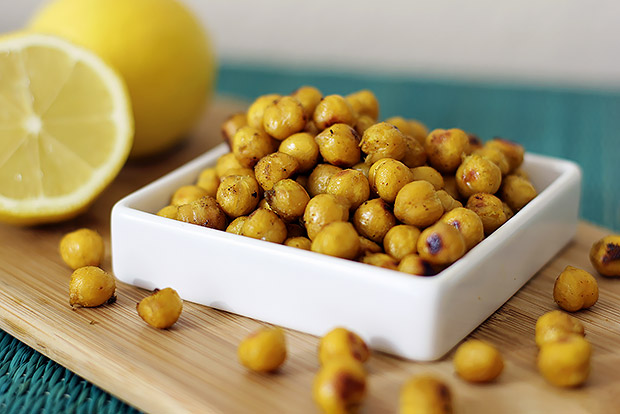 Good Mood Foods - roasted chickpea recipe