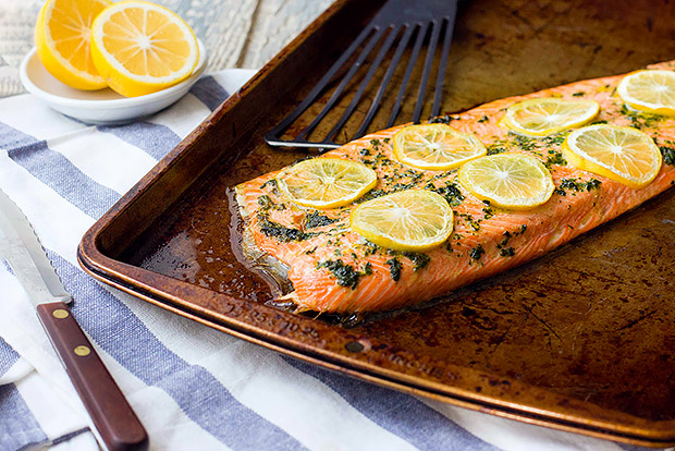 Citrus and Herb Roasted Salmon Recipe