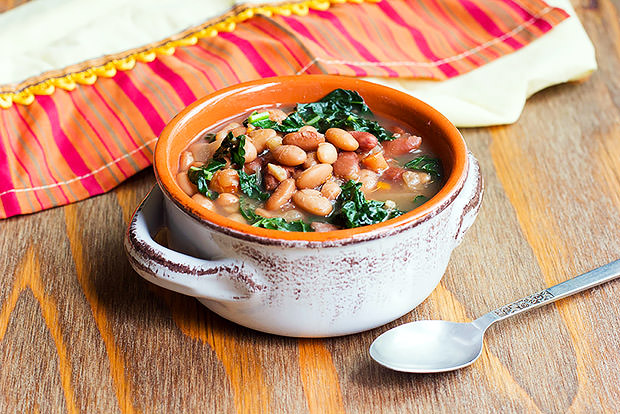 Slow Cooker 3 Bean Soup Recipe