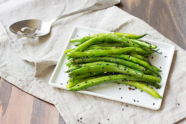 Toasted Sesame Green Bean Recipe