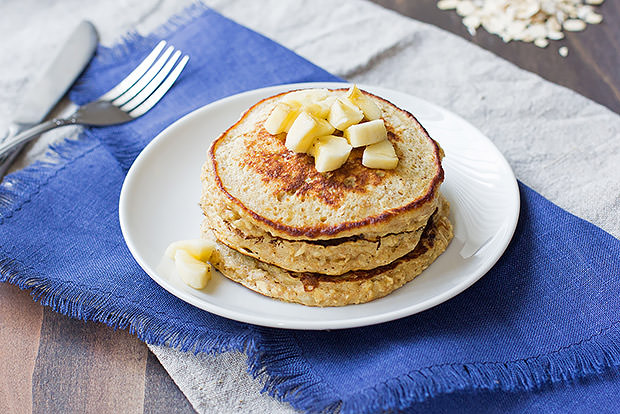 Oatmeal Banana Pancake Recipe