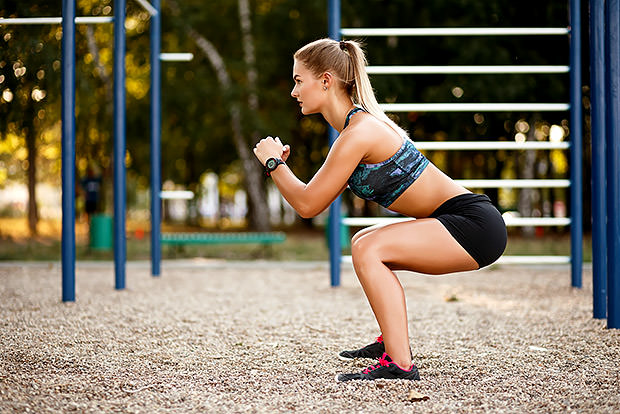 5 Types of Squat Exercises