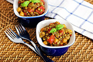 Curry Chickpea and Lentil Stew