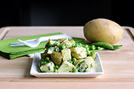 Lightened Up Spring Garden Potato Salad