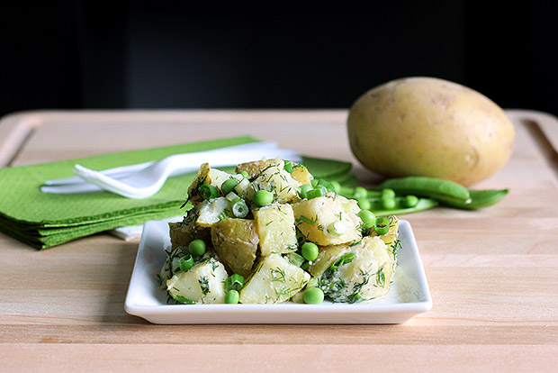 Light Spring Garden Potato Salad