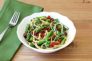 Whole Wheat Pasta with Asparagus and Sun-dried Tomatoes