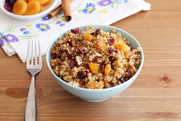 Fruit and Nut Breakfast Quinoa Recipe