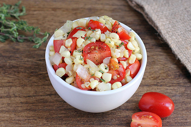 Summer Corn Salad with Thyme Recipe